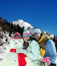Manali Shimla Honeymoon Package by cab